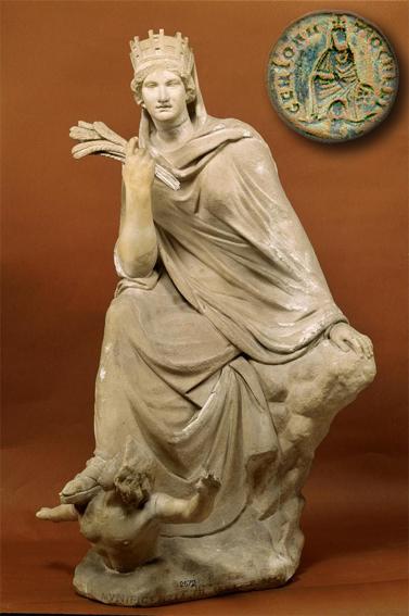 Древнегреческая богиня тихе тюхе
